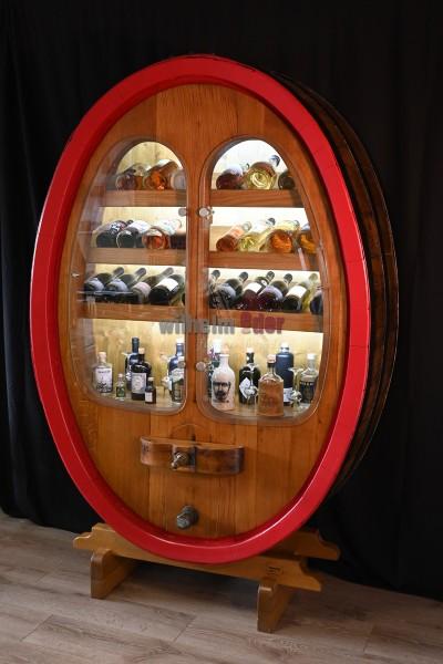 Wine shelf cabinet