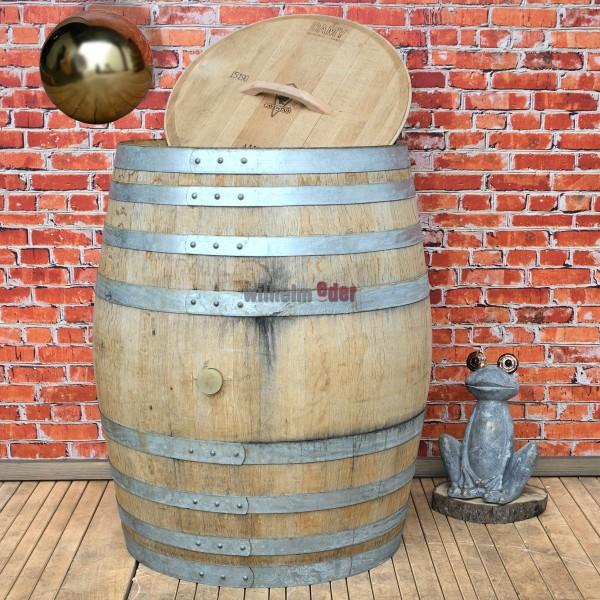 Rain barrel 400 l - galvanised hoops