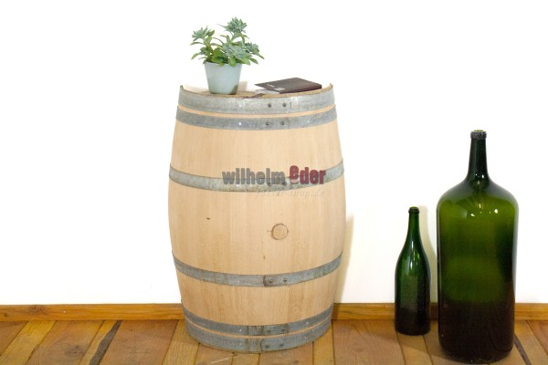 Decorative barrel 225 l - divided lengthwise