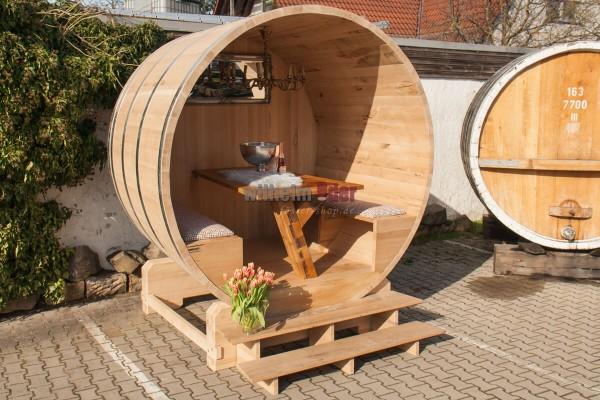 Barrel arbor