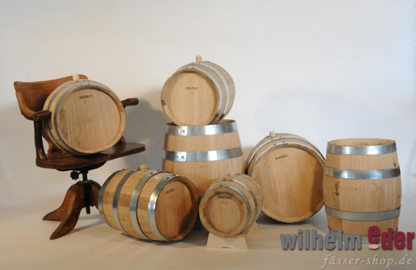 Used barrels from 5 l to 50 l - Whisky