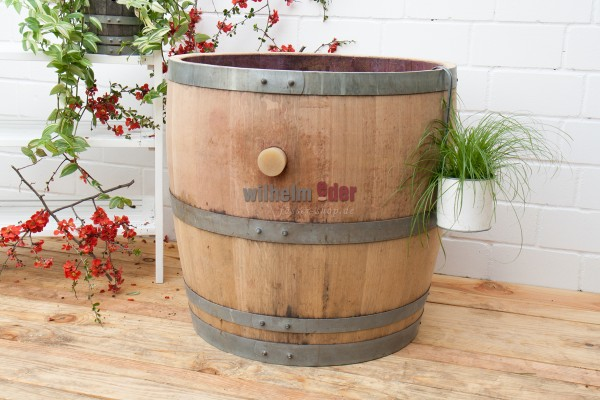 Flower pot - 3/4 barrel