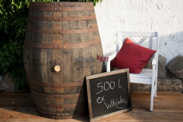 Decoration barrel 500 l - Whisky
