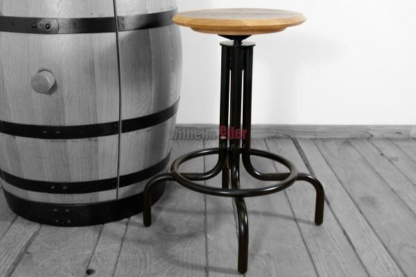 Whisky stool - height-adjustable