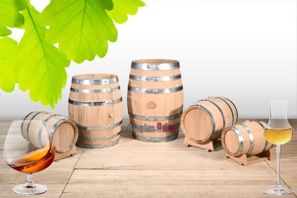 Distillate barrel made of fine-pored oak 3 l – 28 l