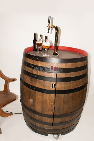 Tapping barrel for beer