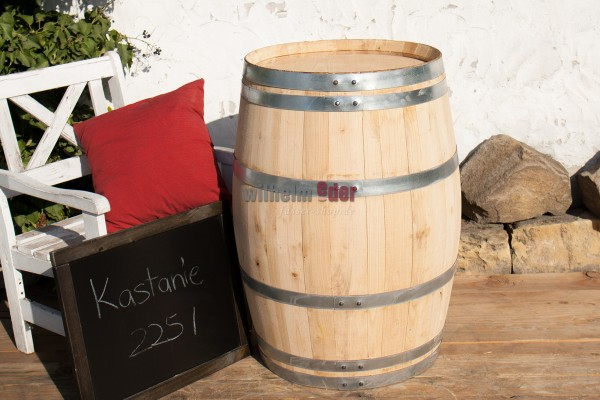 Decoration barrel chestnut 225 l