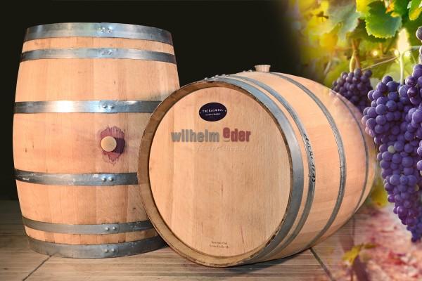 Red wine barrel Baden 225 l - vintage 2014-2018