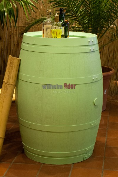 Decoration barrels 225 l in pastal colour