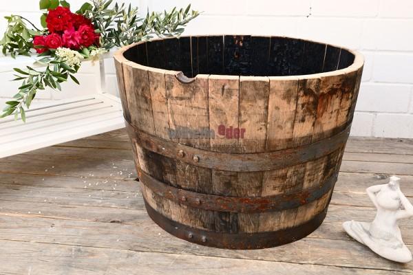 Flower Pot - 1/2 Bourbon barrel