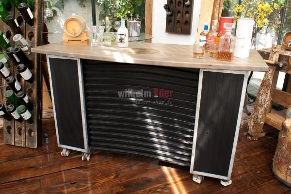 Mobile exhibition counter - bar counter