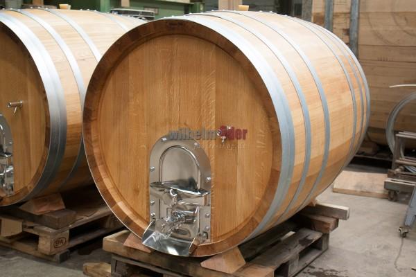EDER - FassStolz® 1000 l round - German Oak