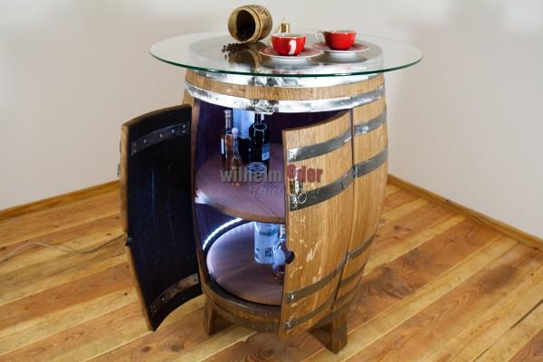 Shelf barrel 300 l with double-leaf door