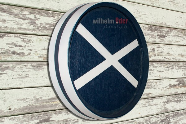 Barrel head - Scotch flag - ø 58 cm