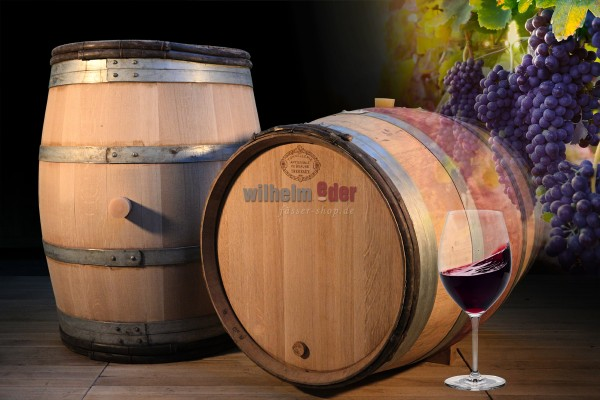 Red wine barrel 228 l - vintage 2018 - Burgundy