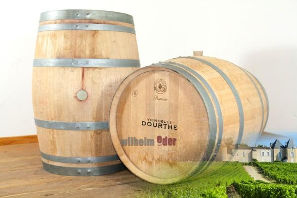 Red wine barrel 225 l - vintage 2017 Cave Dourthe