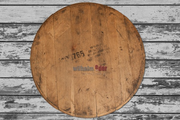 Used barrel lid - Bourbon barrel