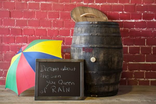 Rain barrel 300-350 l - Wine spirit