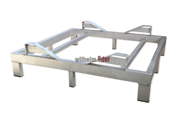 Rack - stainless steel - single, for 600 l barrel