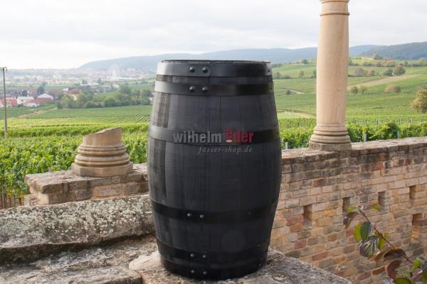 Decoration barrel chestnut - black