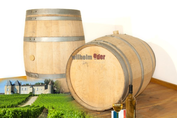 Used barrel of sweet wine 225 l Sauternes