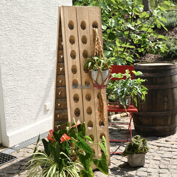 Champagne Rack - 60 bottles - nature
