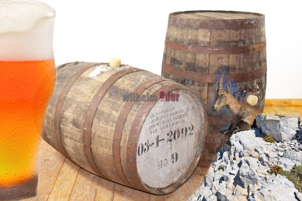 Rum and Stout barrel 190 l