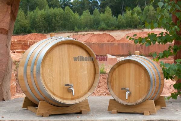 Oak barrel with inner stainless steel bubble 10 l - 20 l