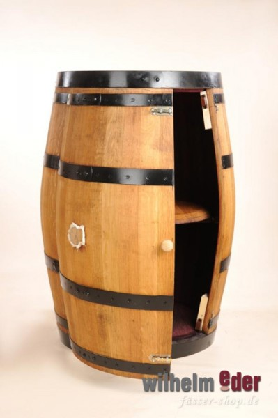 Shelf barrel 225 l Barrique, with door