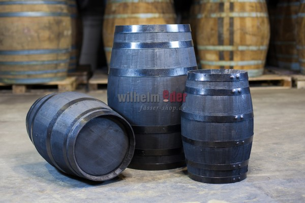 Decoration barrel chestnut - black