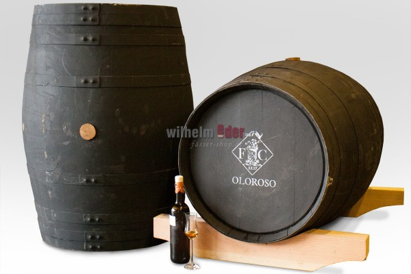 Sherry barrel 225 l black - Oloroso
