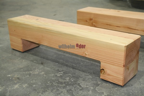 Barrel storage made of wood