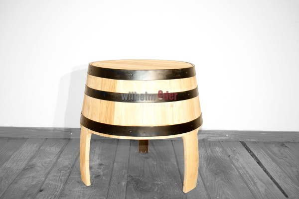 Barrel stool - oak optics