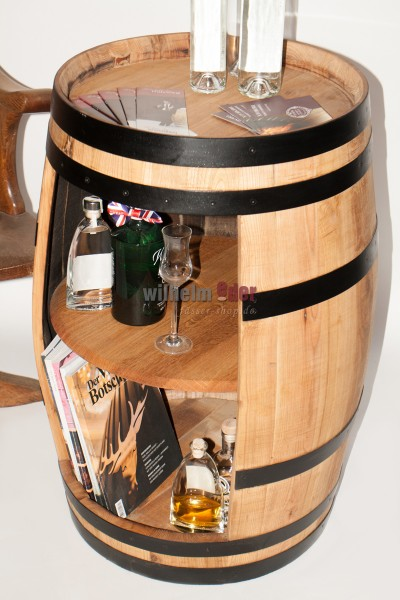 Chestnut shelf barrel 150 l