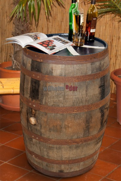 Whisky barrel 190 l – Scotch flag