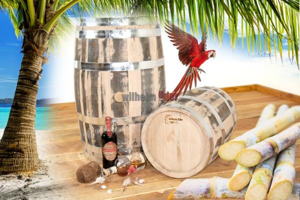 Rum barrel Martinique 20 l - 100 l - rebuilt