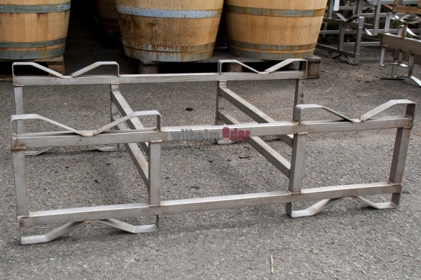 Rack - stainless steel Double, combination rack 300 l - used