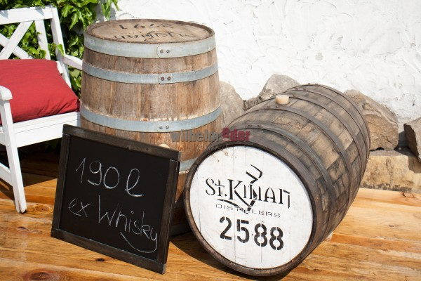 Decoration barrel 190 l - German Whisky