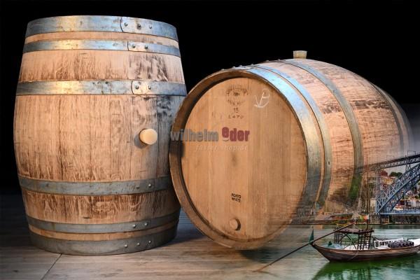 Port wine barrel 225/228 l - white