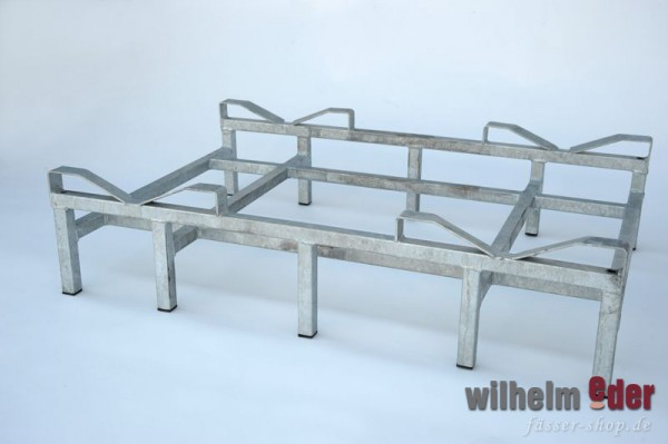 Rack - stainless steel Double rack for bottom - 300 l