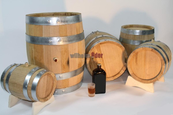 Used barrel from 5 l to 190 l - ex herb liqueur
