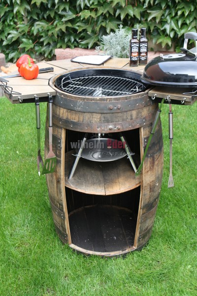 Barbecue barrel
