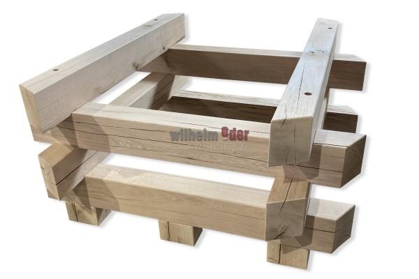 Wooden barrel storage for fermentation vat