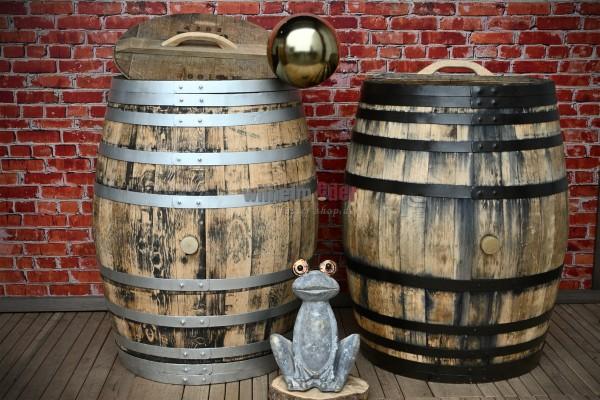 Rain barrel 300-350 l - Wine spirit - sanded