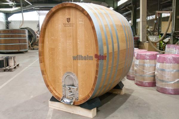 EDER - FassStolz® 2600 l oval - German Oak