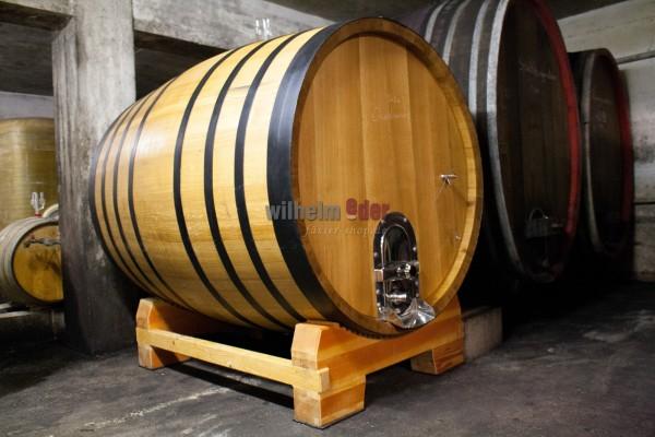 EDER - FassStolz® 3000 l round - German oak