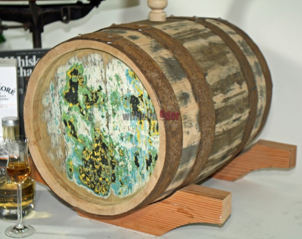 Whisky barrel Single Malt 30 l rebuilt