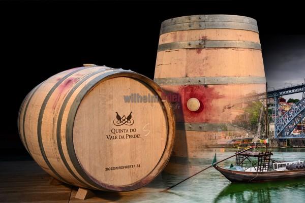 Port wine barrel 225 l - Quinta do Vale