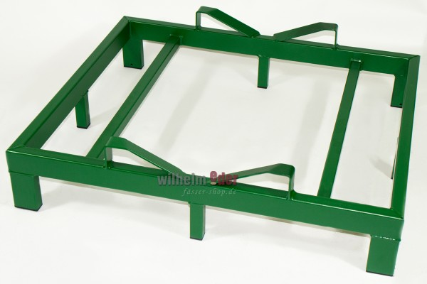 Rack – bottom for one barrel 500 l - green