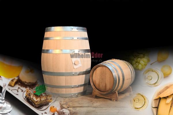 White wine barrel 30 l - 100 l - late vintage - used
